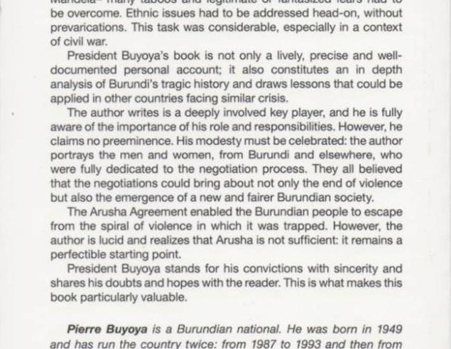 Inter burundian Buyoya