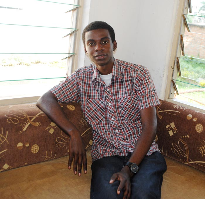 Iradukunda Joseph Jib, the Manager and Cofounder of G25 Events and the Owner of Across Burundi.©Iwacu