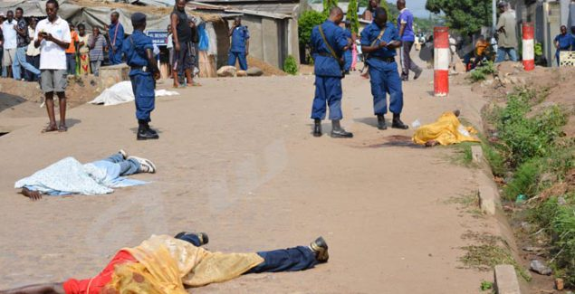 The commission of Inquiry urges the ICC to start investigations into crimes committed in Burundi
