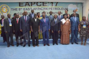 High personalities attending the East African Petroleum Conference and Exhibition taking place in Bujumbura from 7 to 9 June 2017