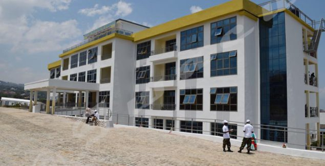 The new building for women and children at Kamenge Military Hospital