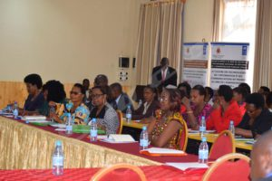 Women leaders in a public administration capacity building session