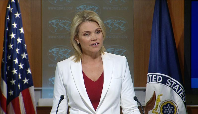 "Heather Nauert, ""The president' decision would be a strong step forwards for Burundian democracy."""