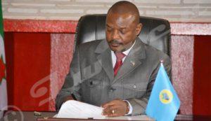 "Burundi President Pierre Nkurunziza ""My term in office as Burundi President will run out in 2020"""