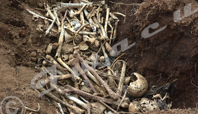 Mass grave discovered in Rusaka commune, Mwaro province, in central Burundi