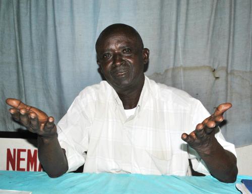 Abdul Aziz Ntahiraja, ancien agent des renseignements qui révéla les préparatifs d'attaques rebelles au sud du Burundi, 6 mois avant ©Iwacu