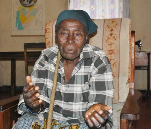 Bernadette Nahagera, « Les rebelles ont tué beaucoup de personnes. Des Hutu sont morts en masse, on a caché beaucoup de personnes avec mon mari » ©Iwacu