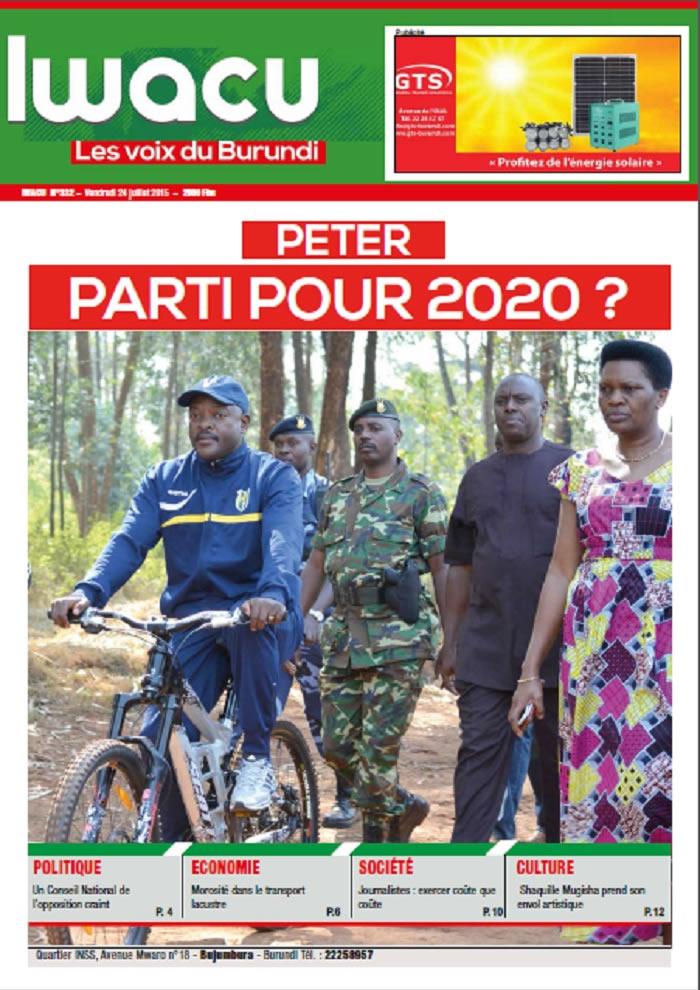 IWACU Hebdomadaire n°332