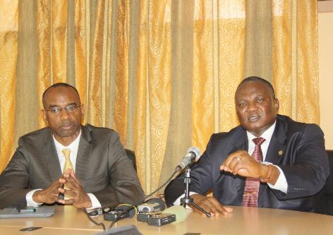 Ambassadeur Boubacar Diarra : « Nous ne pouvons pas imaginer un seul instant d'aller vers les élections de 2015 sans un accord politique inclusif entre toutes les parties concernées » ©Iwacu
