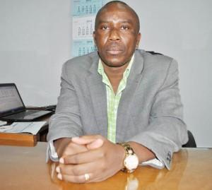 Bonaventure Sinzobakwira, directeur général du GPSB : « Le personnel doit faire confiance à l'équipe dirigeante puisqu'elle est venue pour développer l'entreprise » ©Iwacu