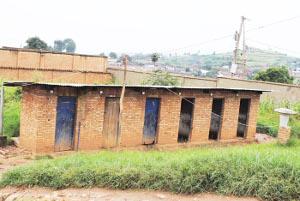 Des toilettes hors d'usages suite au manque d'eau ©Iwacu