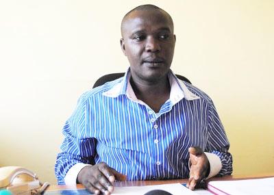 Dr Gervais Manirakiza, directeur de l'hôpital de Kayanza ©Iwacu