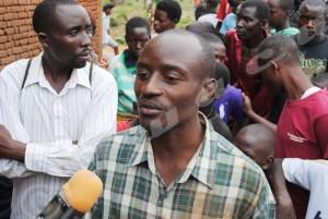 Emmanuel Ndagijimana : « J'ai du relâché mes enfants »