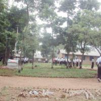 Les élèves du Lycée Cibitoke pendant la recréation