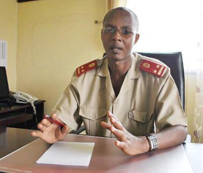 Marc Nimburanira, directeur général de l'HMK : « au cas où une autre catastrophe arrive à se produire, nous ne serions pas capables de gérer la situation »  ©Iwacu