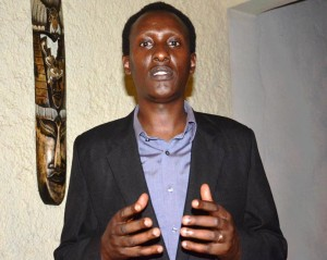 Vital Nshimirimana, délégué général du Forsc ©Iwacu