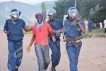 La police fait le dernier assaut, capture quelques jeunes ... ©O.N/Iwacu