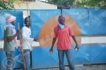 Dimanche, 09  mars 2014 - Par ailleurs, plus de 100 jeunes sont dans les enceintes de la permanence, prêts à résister à la police à l'appel de leur chef ©O.N/Iwacu