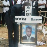 Lors de l'enterrement de Bienvenu Busuguru ©Iwacu