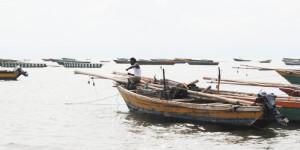 Des embarcations de pêche dans le lac Tanganyika ©Iwacu