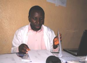"""Dr Wilson Bizimana : """"Nous avons des problèmes de paiement de notre personnel suite aux impayés du gouvernement"""" ©Iwacu"""
