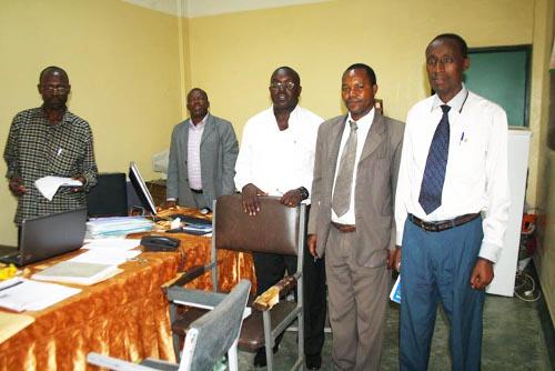 ETS Kamenge : les membres de la commission ©Iwacu