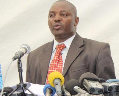 Félicien Nduwuburundi : « En parlant de l'organisation d'un référendum, les upronistes répercutent des rumeurs de la rue » ©Iwacu
