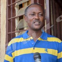 Lundi, 17 mars 2014 - Gaston Sindimwo, secrétaire général de l'Uprona estime que c'est pour des raisons politiques ©O.N/Iwacu