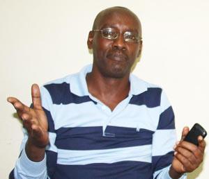 Gordien Ngendakumana : « Aujourd'hui, la mairie ne paie plus et nos services sont arrêtés » ©Iwacu