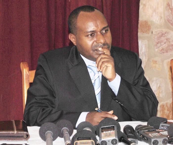Joseph Butore, ministre de l'Enseignement supérieur et de la Recherche scientifique, se dit déçu de la faible réinscription des étudiants de l'UB et de l'ENS ©Iwacu