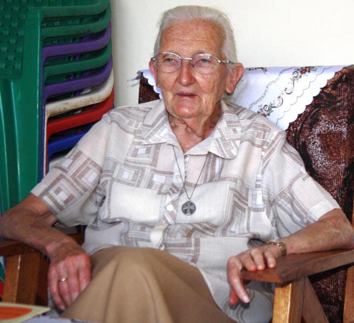 L'action de sœur Janine, médaillée de l'ordre des Chevaliers de la couronne belge, est encore peu connue au Burundi ©Iwacu