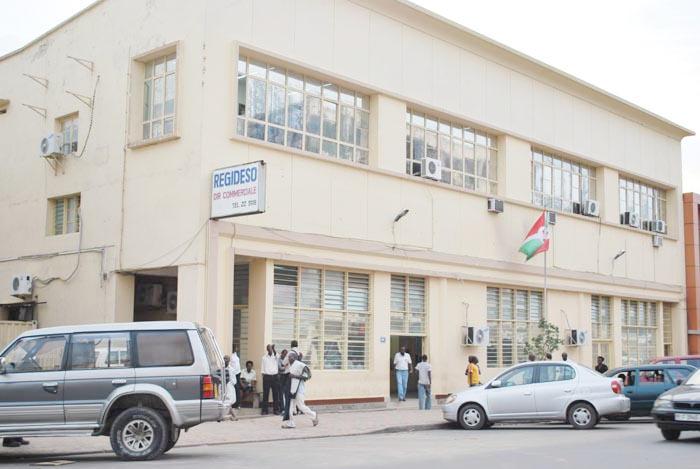 La Regideso (ici, le siege de la Direction commerciale) enregistre plusieurs milliards de créances auprès de l'Etat ©Iwacu