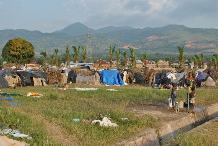 """Les déplacés de """"Ku mase"""" vivent dans des conditions déplorables"""