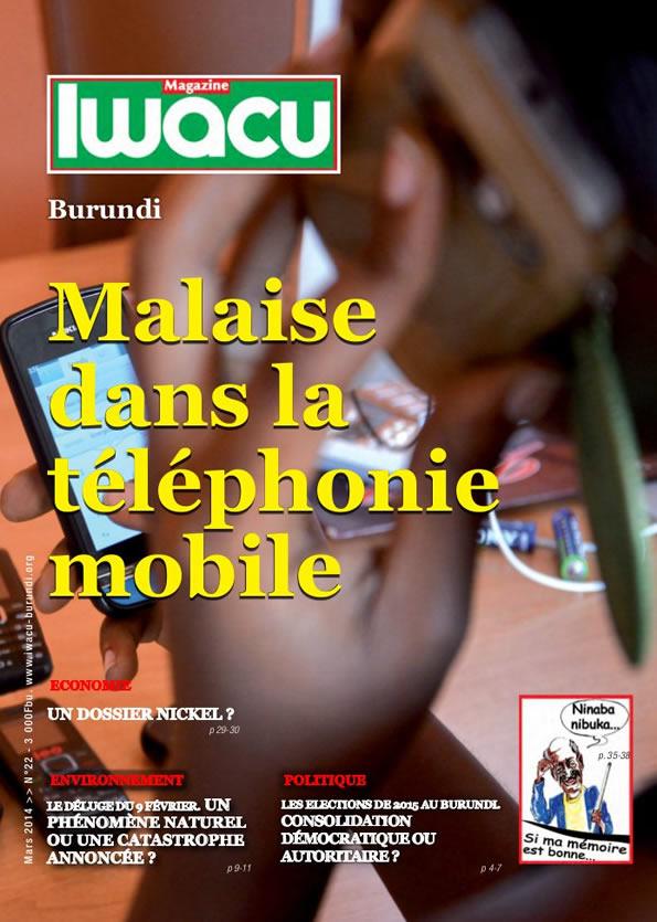 La Une du dernier Magazine