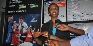 Ariane Niyomwungere: «TELE 10 a diminué les prix pour permettre à ses abonnés actuels et potentiels d'avoir une diversité de chaines et dans tout le territoire national» ©Iwacu