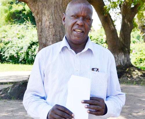 L'ambassadeur Cyprien Mbonimpa ©Iwacu