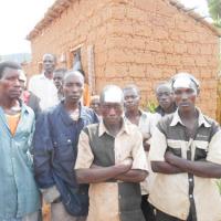 Les blessés : Gérard Nyabenda, Dieudonné Ndayikengurutse et Leonidas Nzisabira ©Iwacu