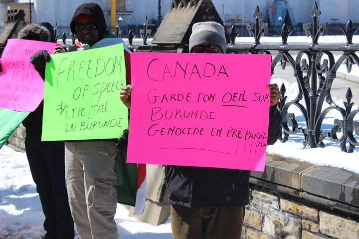 Manifestations au Canada, le 28 avril 2014