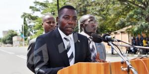 Jeudi, 1er mai 2014 - Journée internationale du Travail: Les cérémonies ont eu lieu sous le haut patronage de M. Gabriel Ntisezerana, président du Sénat ©O.N/Iwacu