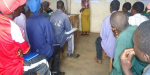 Vue partielle des participants à la formation sur la qualité du café ©Iwacu