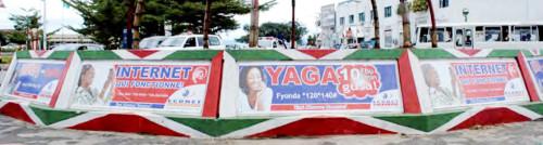 """Le rond-point """"Econet"""", en plein cœur de Bujumbura ©Iwacu"""
