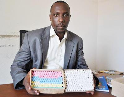 Aimé Ndizeye, directeur général de Chalk Chain Enterprise ©Iwacu