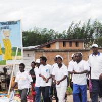 Lors des sports de masse au sud du Burundi ©Iwacu