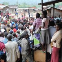 Des jeunes de la population de Mabayi ©Iwacu