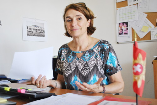 Elisabeth Pitteloud Alansar, directrice de Coopération suisse ©Iwacu
