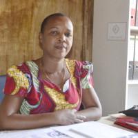 Espérance Ngerageze, administrateur de la commune Bwiza invite la population à veiller sur leur sécurité ©Iwacu