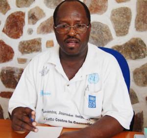 Noël Nkurunziza, président de l'ABUCO-TI Burundi ©Iwacu
