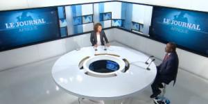 Pierre Nkurunziza sur le plateau de TV5 Monde ©dr