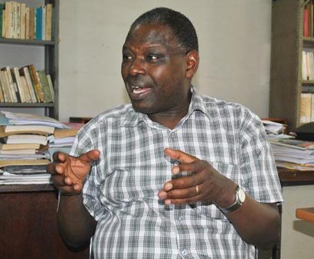Pr Nicodème Bugwabari, sociologue politique ©Iwacu