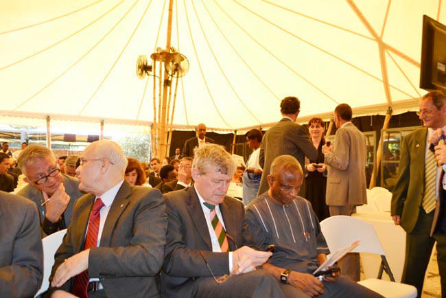 Quelques représentants des pays donateurs lors des journées portes ouvertes organisées par le ministère des Relations extérieures et de la Coopération ©Iwacu
